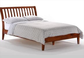 Nutmeg Cherry Platform Bed