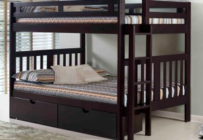 Roma Full-Over-Full Bunk Bed