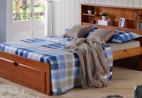 Del Rey Bookcase Platform Bed