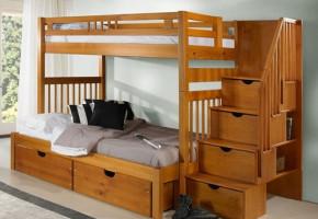 Sacramento Twin-Over-Full Bunk Bed
