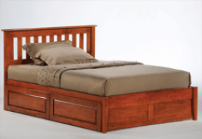 Roesmary cherry Platform Bed
