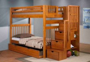 Stairway Twin-over-Twin Bunk Bed