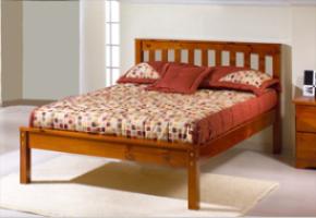 Mission cherry Platform Bed