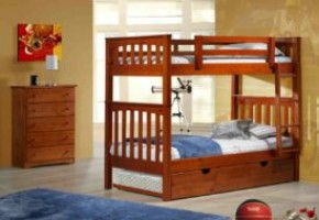 Oakland Twin-over-Twin Bunk Bed