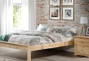 Mission Low-Low Natural Platform Bed