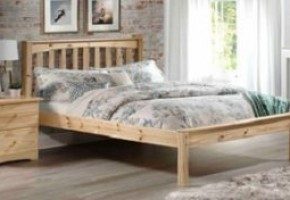 Mission Natural Platform Bed