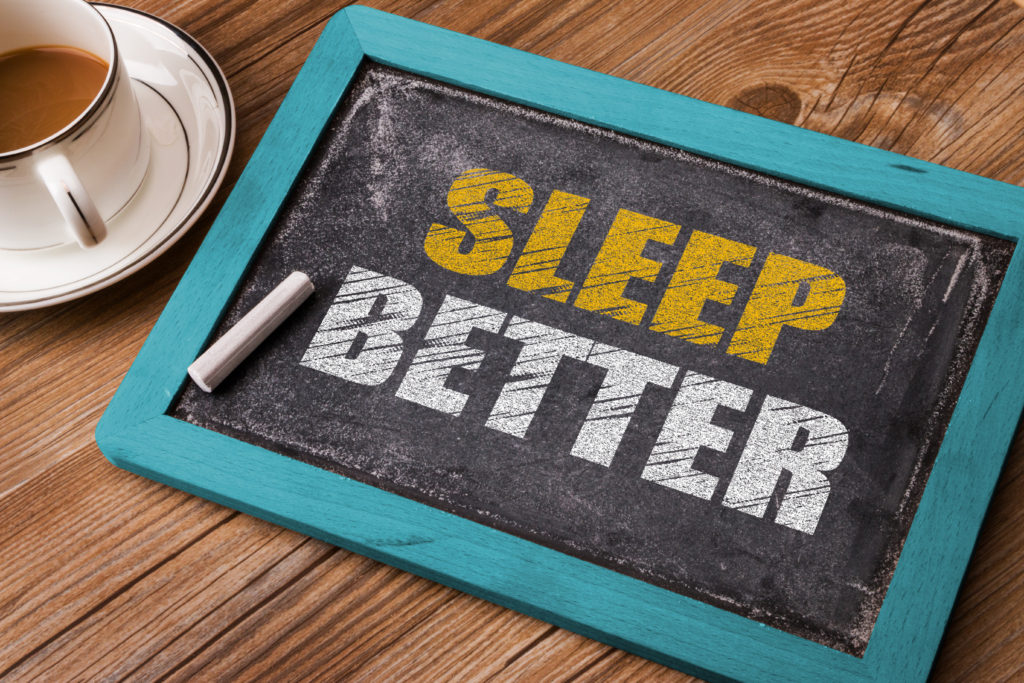 tips to sleep better